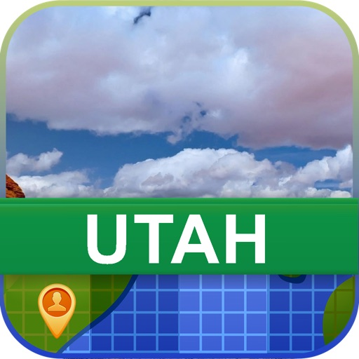 Offline Utah, USA Map - World Offline Maps
