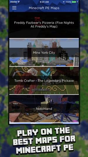 Maps For Minecraft PE Map Installer On The App Store - Minecraft gratis spielen und downloaden