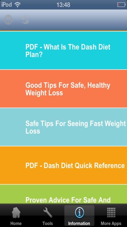 Dash Diet Plan screenshot-3