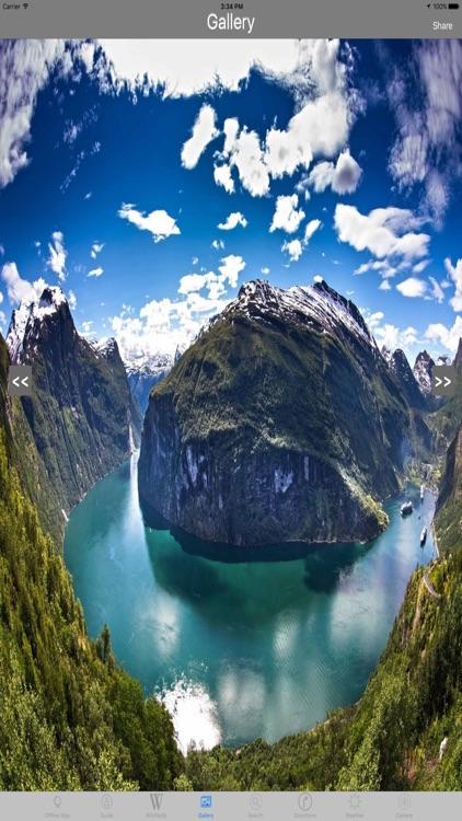 Norwegian fjords Tourist Travel Guide