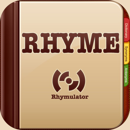 Rhymulator: Rhymes for Songwriters, Rappers, Poets