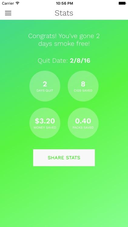CigQuit: Quit Smoking and Enjoy Smoke Free Life