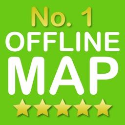 Edinburgh No.1 Offline Map