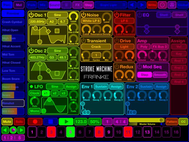 Stroke Machine Screenshot