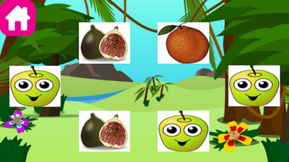 Veggies and Fruit Splash Mania-Classic Puzzle for Boys and Girls! screenshot one
