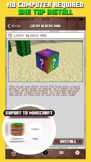 ‎Mods for Minecraft PC & Addons for Minecraft PE