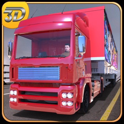 18 Wheeler Big Truck Simulator 3D-Real Парковка