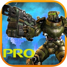 Iron Robot Machine War Attack Sniper Games PRO
