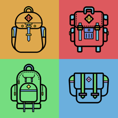 Activities of Backpack Challenge Game!
