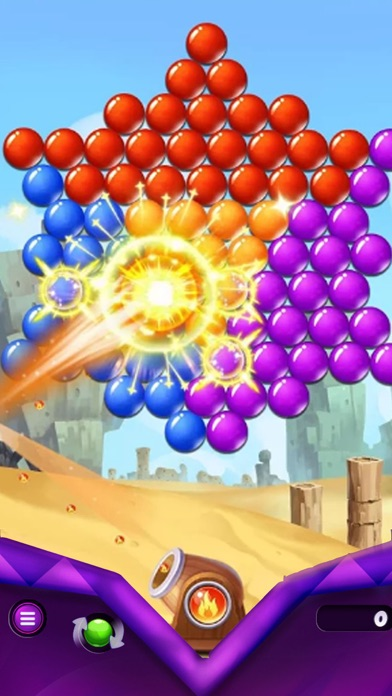 Bubble Shooter Rush