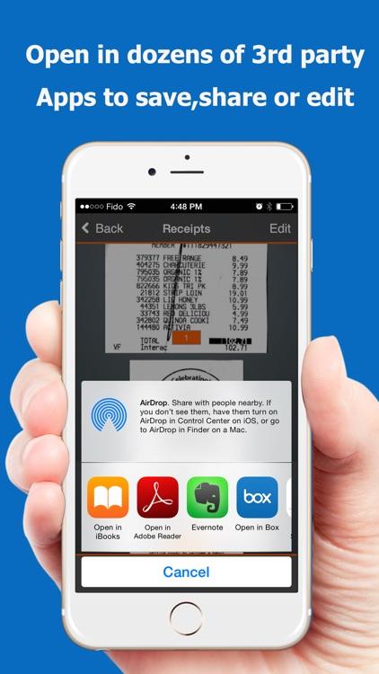 TopScanner : PDF Scanner App screenshot-3