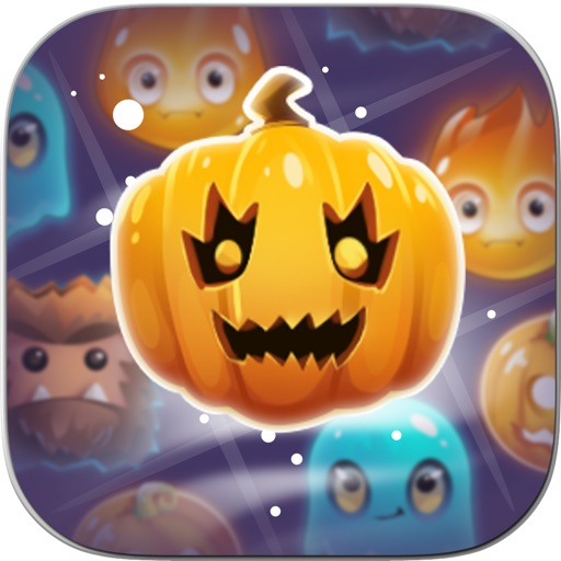 Halloween Monsters: Match 3 Puzzle Game iOS App
