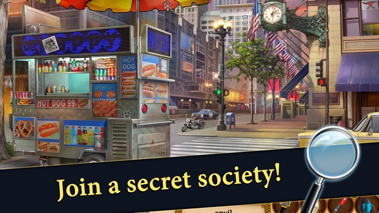 Hidden Objects Mystery Society screenshot-3