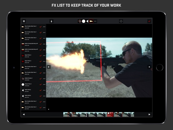 Gun Movie FX Screenshot