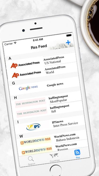 World Newspapers the News Search Engine screenshot-4
