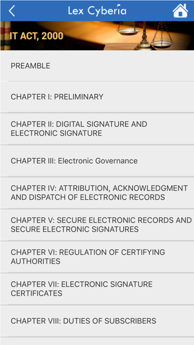 IT Act 2000 & Cyber Law India screenshot two