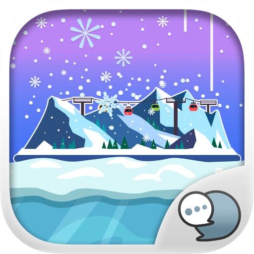 Frozen & Winter Stickers Keyboard Themes ChatStick