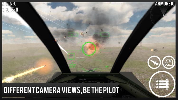 Modern Jet Air Strike Combat Shooter : Delta Force screenshot-4