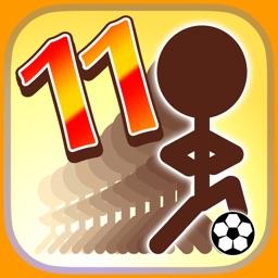 11人いればサッカーできる