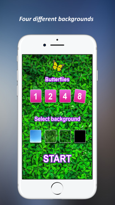 Butterfly Games for Cat screenshot two