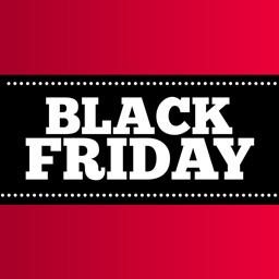 Black Friday Stickers - Sale & Discount Badges