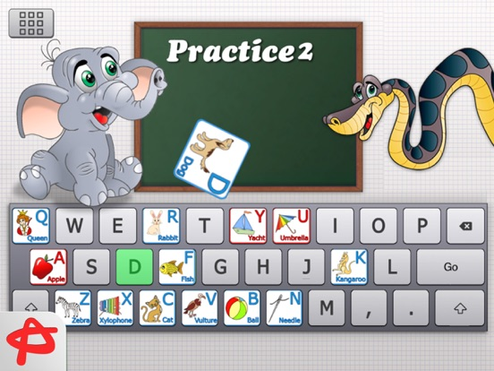 Clever Keyboard: ABC Learning Game For Kids screenshot 1