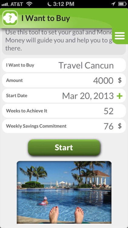 Money Money:  To track expenses & save money screenshot-1