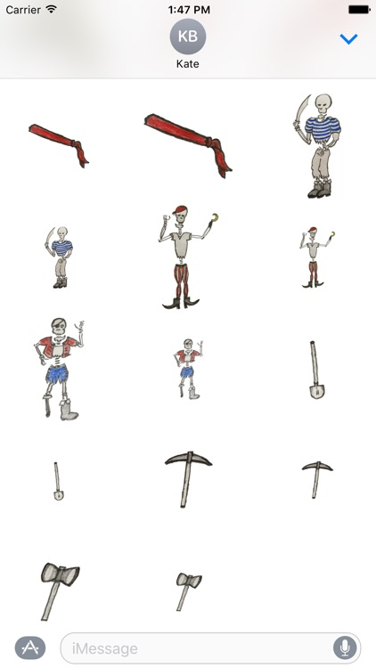 Nautical Pirate Stickers screenshot-0