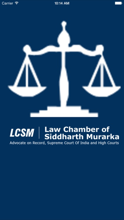 Law Chamber Siddharth Murarka screenshot-0