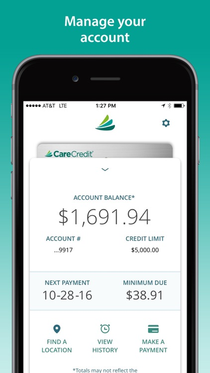 CareCredit Mobile App screenshot-1