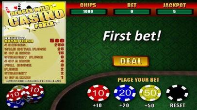 Deuces Wild Casino Poker screenshot one