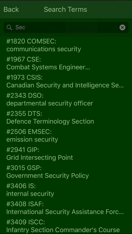 Military Terms & Acronyms screenshot-3