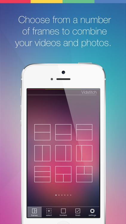 Vidstitch Frames for Instagram screenshot-1