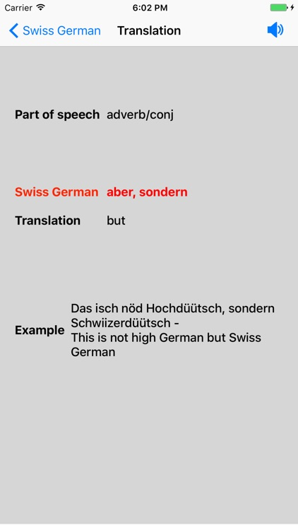 Swiss German Dictionary screenshot-4