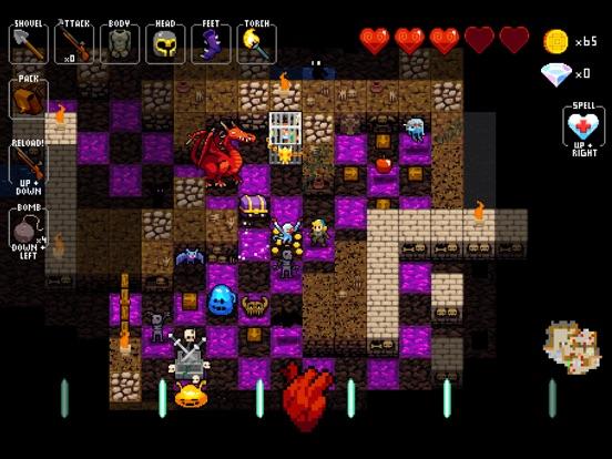 Crypt of the NecroDancer Screenshots