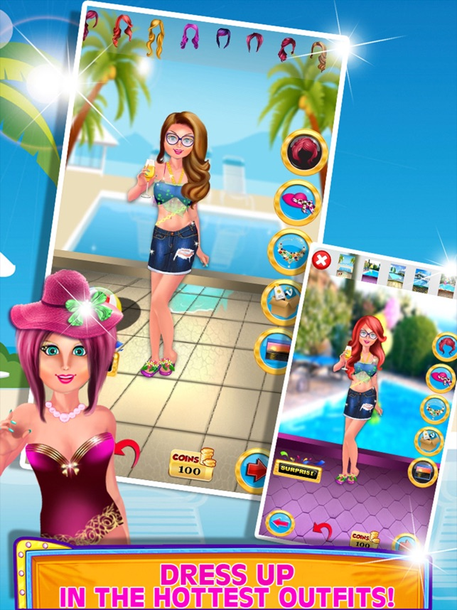 Crazy Pool Party Umstylen Schwimmen Kostüm im App Store