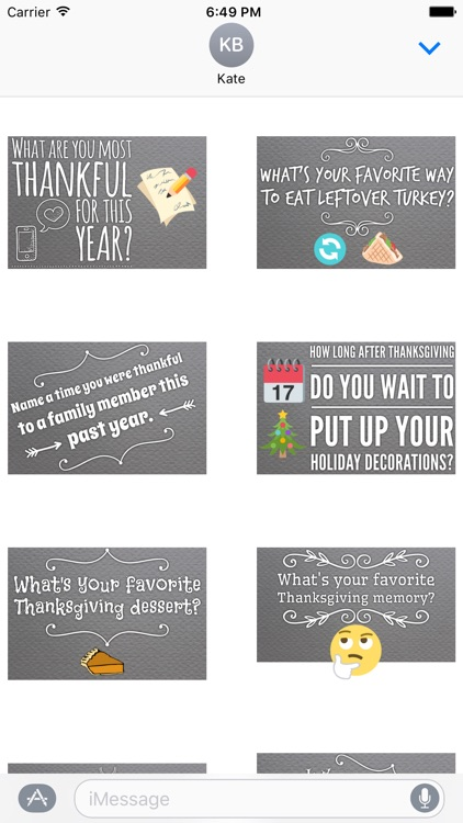 GladLibs: Thanksgiving Prompts screenshot-2