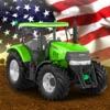美国 农场 模拟器 : 柴油机 卡车 收成 作物
