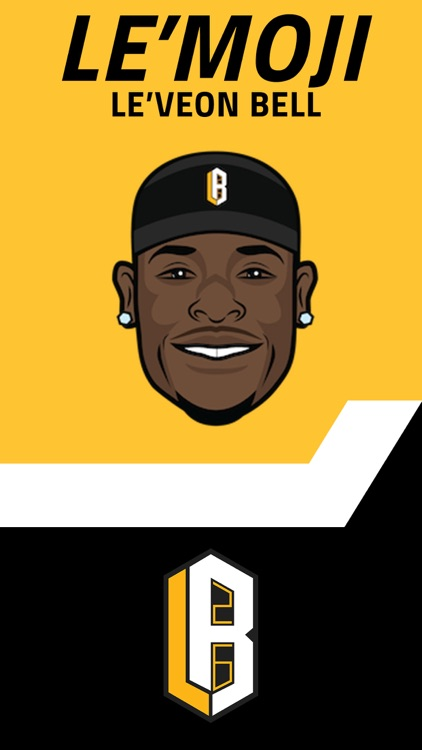 Le'Moji - Official Le'Veon Bell Emoji Keyboard screenshot-0