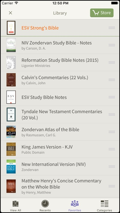 NASB Bible by Olive Tree screenshot-4