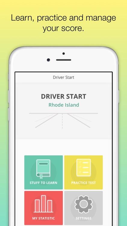 Rhode Island DMV - Permit test