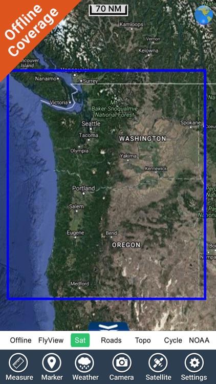 Boating Oregon to Washington screenshot-4