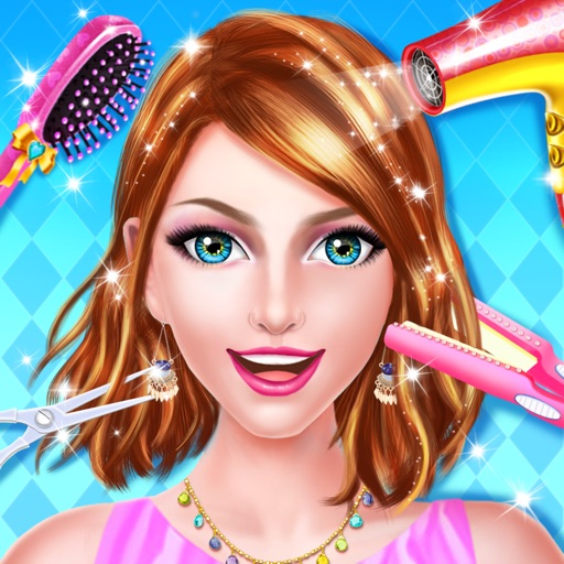 girls hair styling games fashion hair style salon for by 4859 | 512x512bb