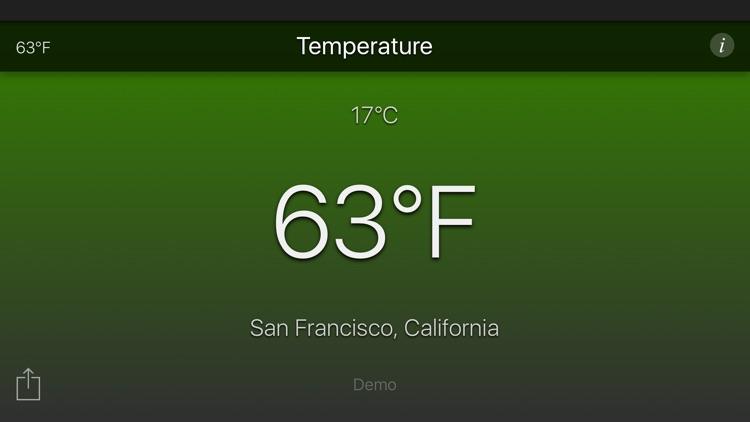 Temperature App screenshot-4