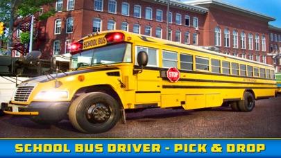 School Bus Driver - Pick & Drop 3D Simulator Game screenshot four