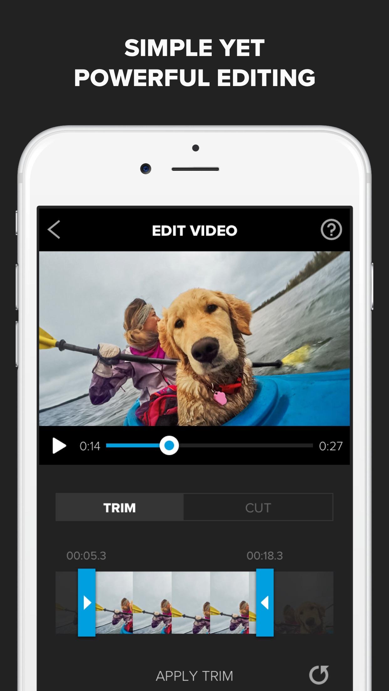 Splice - Video Editor + Movie Maker by GoPro Screenshot