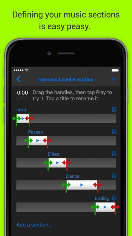 MixPlay Cheer and Dance Choreography Music Player