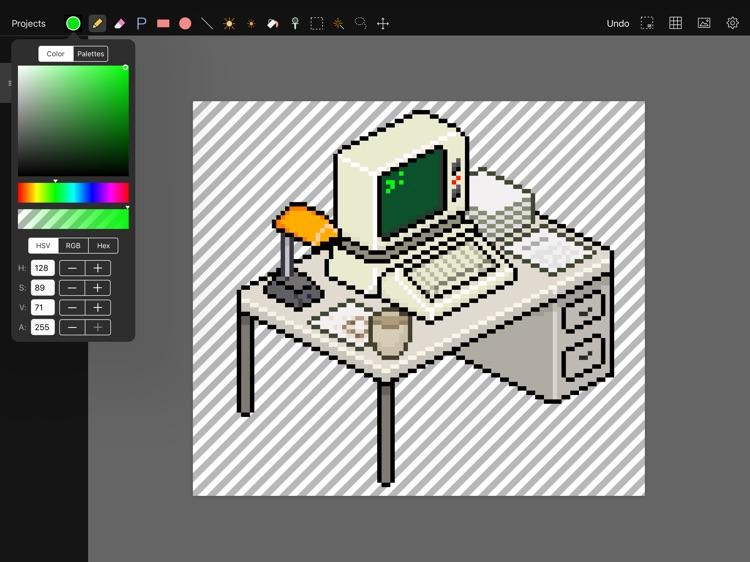 Pixen - pixel art editor screenshot-1