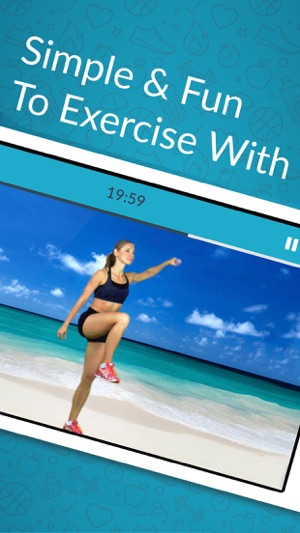 Frauen Training:Übung home Fitness Gewichtsverlust Screenshot