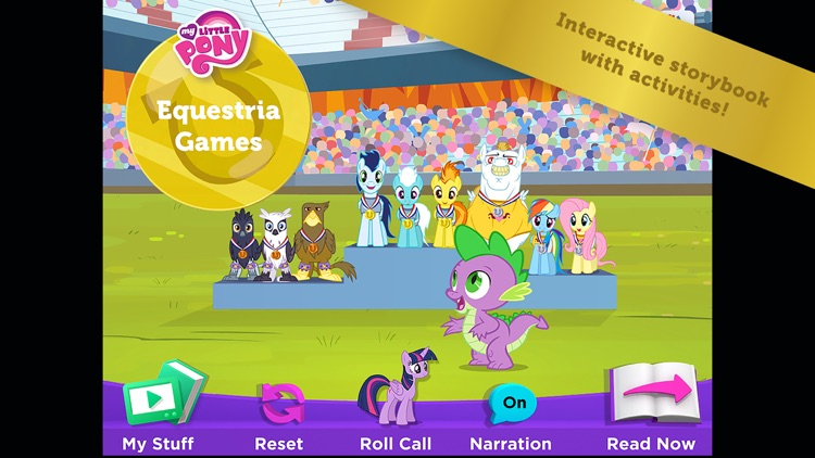 My Little Pony: Equestria Games screenshot-0